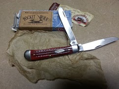 Pocket worn red bone trapper 6254 for sale $40.00