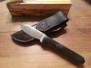 Sole Authorship Patch/Hunter Custom Knife