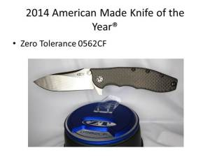 2014 American Made Knife of the Year
