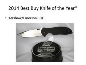 2014 Best Buy Knife of the Year
