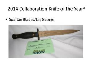 2014 Collaberation Knife of the Year