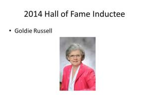 2014 Hall of Fame Inductee