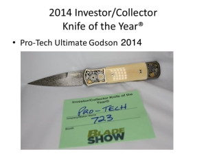 2014 Investor-Collector Knife of the Year