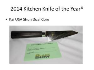 2014 Kitchen Knife of the Year