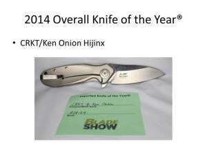 2014 Overall Knife of the Year