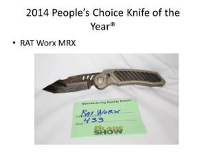2014 People's Choice Knife of the Year