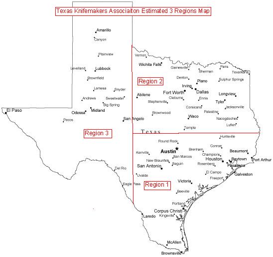 TKG Logo Regions Map