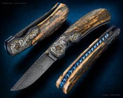 Custom Knife by Johnny Stout